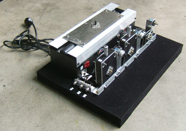 L'un de nos systèmes de contrôle optique